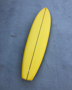 Speedhull - 7'4 Sunflower Yellow