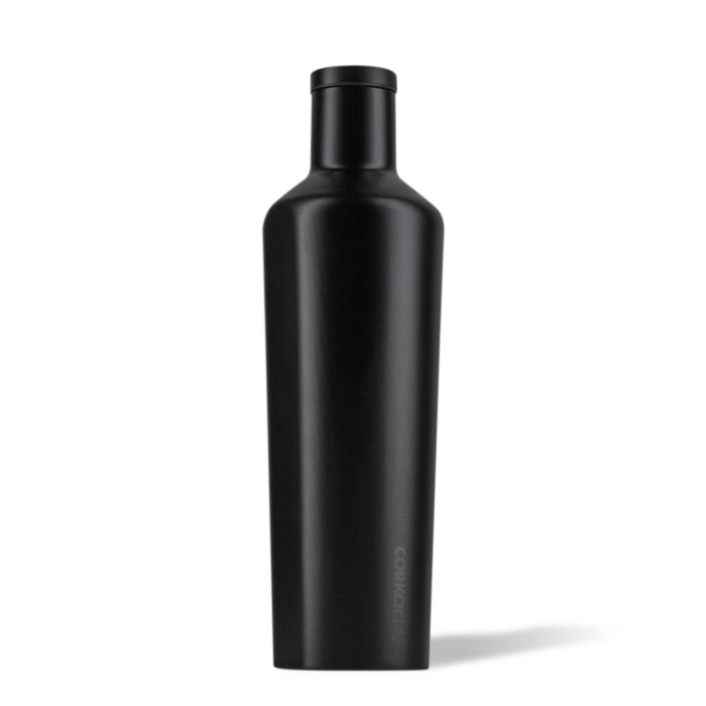 Corkcicle - Stainless Steel Insulated Canteen 25oz (750ml) - Dipped Black