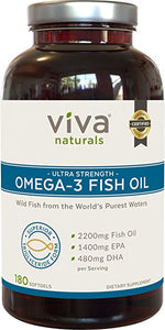 Viva Naturals Omega 3 Fish Oil Supplement Reviews