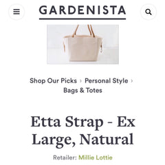 Millie Lottie on Personal Style of Gardenista