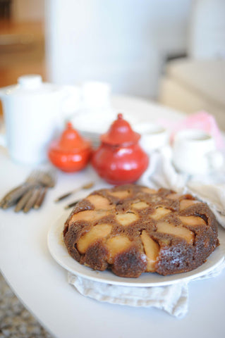 Mom's Skillet Pear Cake by Sam of BiRite Market