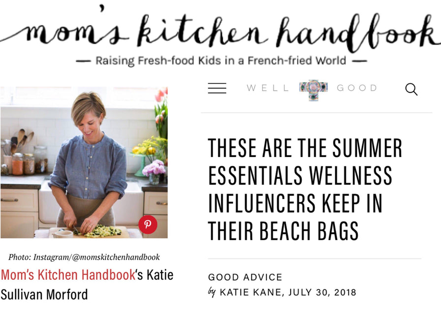 Katie Morford mentions Millie Lottie as a Beach Essential