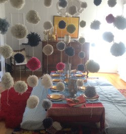 Pom Pom Screen of the Moroccan Dinner