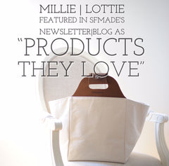 Millie Lottie as product they love by SFMade.org