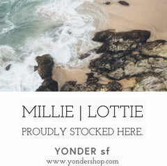Millie Lottie Sold at YONDER SHOP in San Franciso
