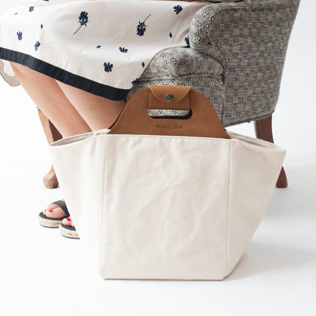 Eva Signature Market & Picnic Tote | Medium