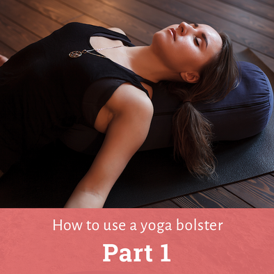 how to use a yoga bolster title image