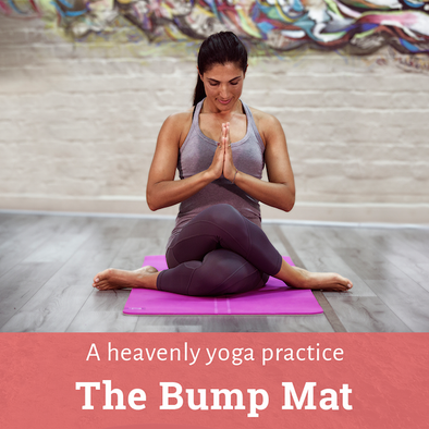 The Bump Yoga Mat: Yoga's secret weapon that's not just for expectant mothers