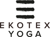 ekotex yoga logo registered trademark
