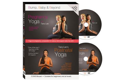 Baby & Beyond with Tara Lee - 2 DVD Boxset - Pregnancy Yoga + Postnatal Yoga