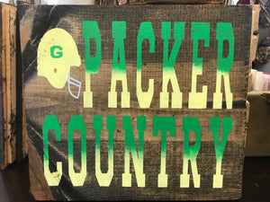 PACKER COUNTRY