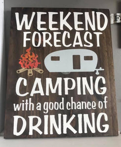 CAMPING-WEEKEND FORECAST