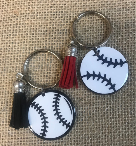 BALL KEYCHAIN  ⚾️  🥎