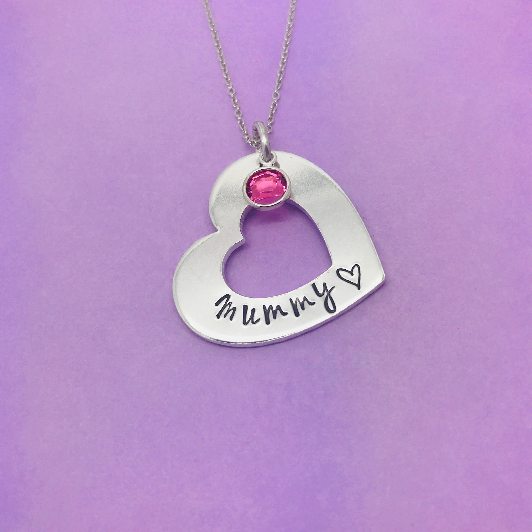 Mummy Heart Necklace