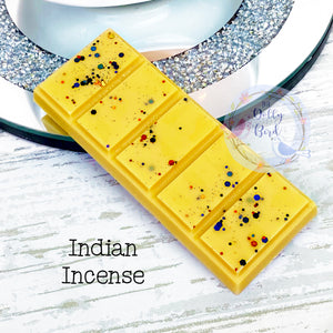 Indian Incense Wax Melt Snap Bar, Fresh Scented Wax, Indian Incense Wax Melts, Wax Snap Bar, Clean Scented Wax Melts, Herb Wax Melts
