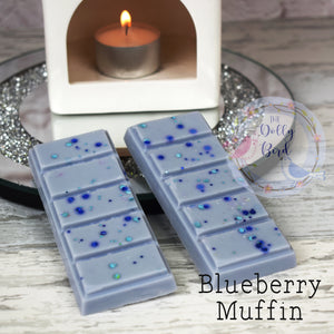 Blueberry Muffin Wax Melt Snap Bar, Blueberry Muffin Scent Wax, Soy Wax Melts, Bakery Scented Wax Melts, Fruity Wax Melts, Sweet Wax Melts