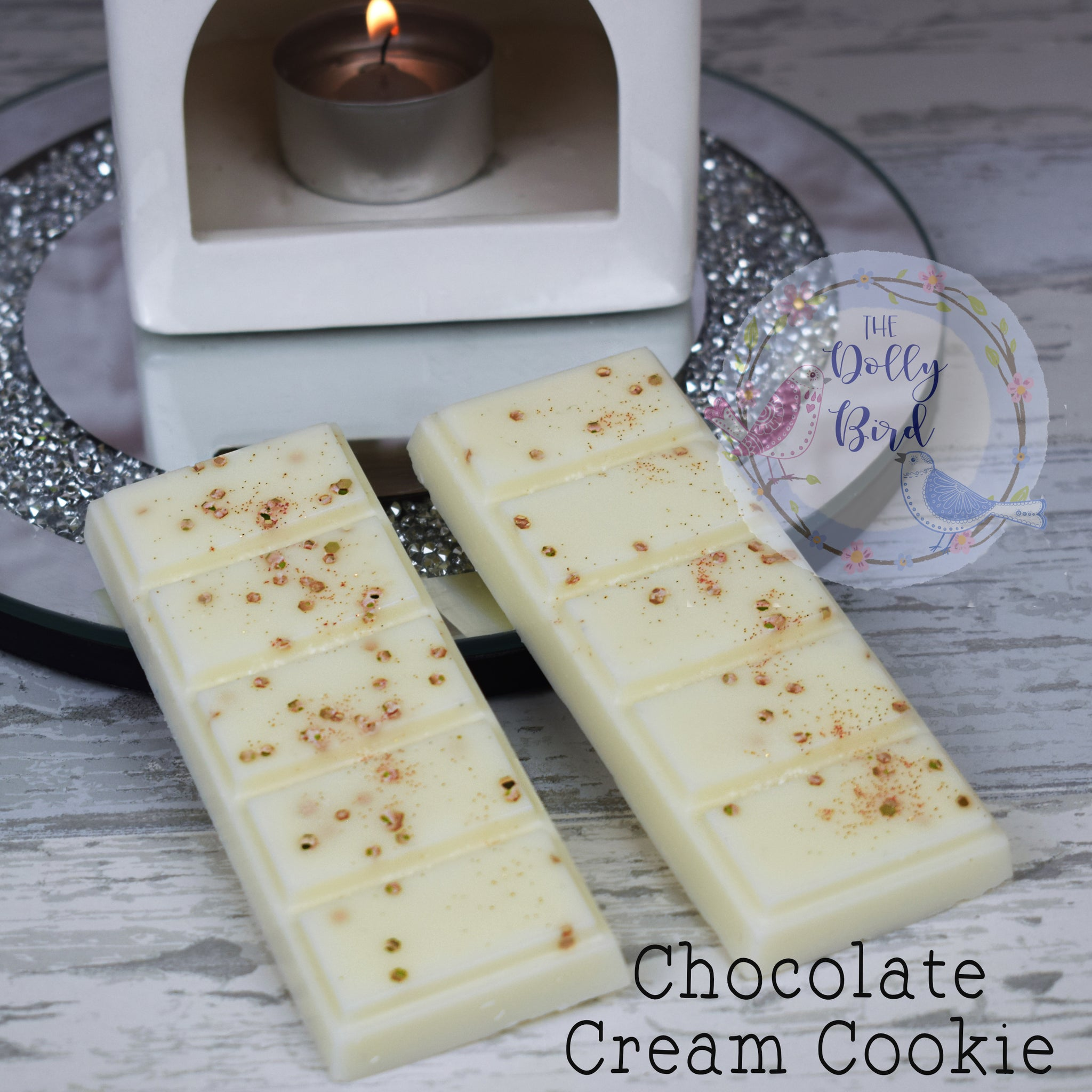 Chocolate Cream Cookie Wax Melt Snap Bar, Chocolate Cookie Scent Wax Melts, Soy Wax Melts, Bakery Scented Wax Melts, Sweet Food Wax Melts