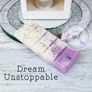 Dream Unstoppable Laundry Scented Wax Melt Snap Bar, Dream Unstoppable Laundry Scented Wax, Soy Wax Melts, Wax Snap Bar, Washing Scented Wax Melts, Fresh Scent Wax Melts