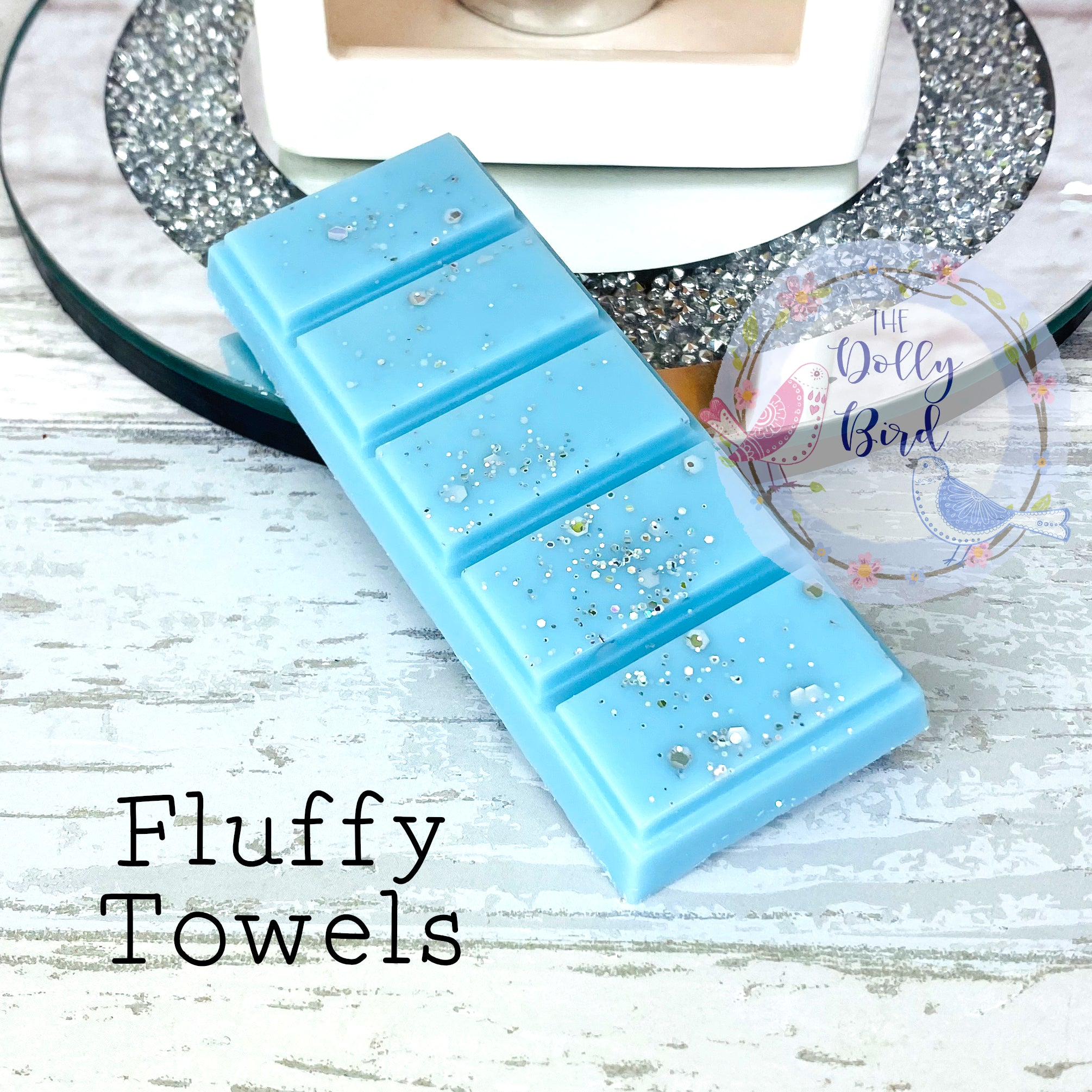 Fluffy Towels Laundry Scented Wax Melt Snap Bar, Fluffy Towels Laundry Scented Wax, Soy Wax Melts, Wax Snap Bar, Washing Scented Wax Melts, Fresh Scent Wax Melts