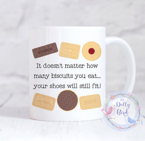 Funny Biscuit Mug, Funny Diet Mug, Funny Biscuit Dieting Mug, Biscuit Lover Mug, Dieting Gift, Biscuit Lover Gift, Mug For Her, Mug For Him