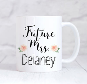 Future Mrs Personalised Wedding Planning Mug,This Is My Wedding Planning Mug, Wedding Planning Mug, Future Mrs Mug, Engagement Mug, Engagement Gift, Proposal Gift, Wedding Planner, Personalised Engagement Gift, For Her