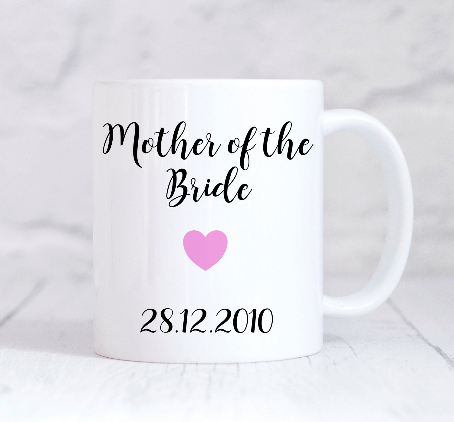Mother Of The Bride Mug, Mother Of Bride Gift, Wedding Thank You Gift, Personalised Wedding Gift, Personalised Mug, Coffee Mug, Tea Mug, Cup
