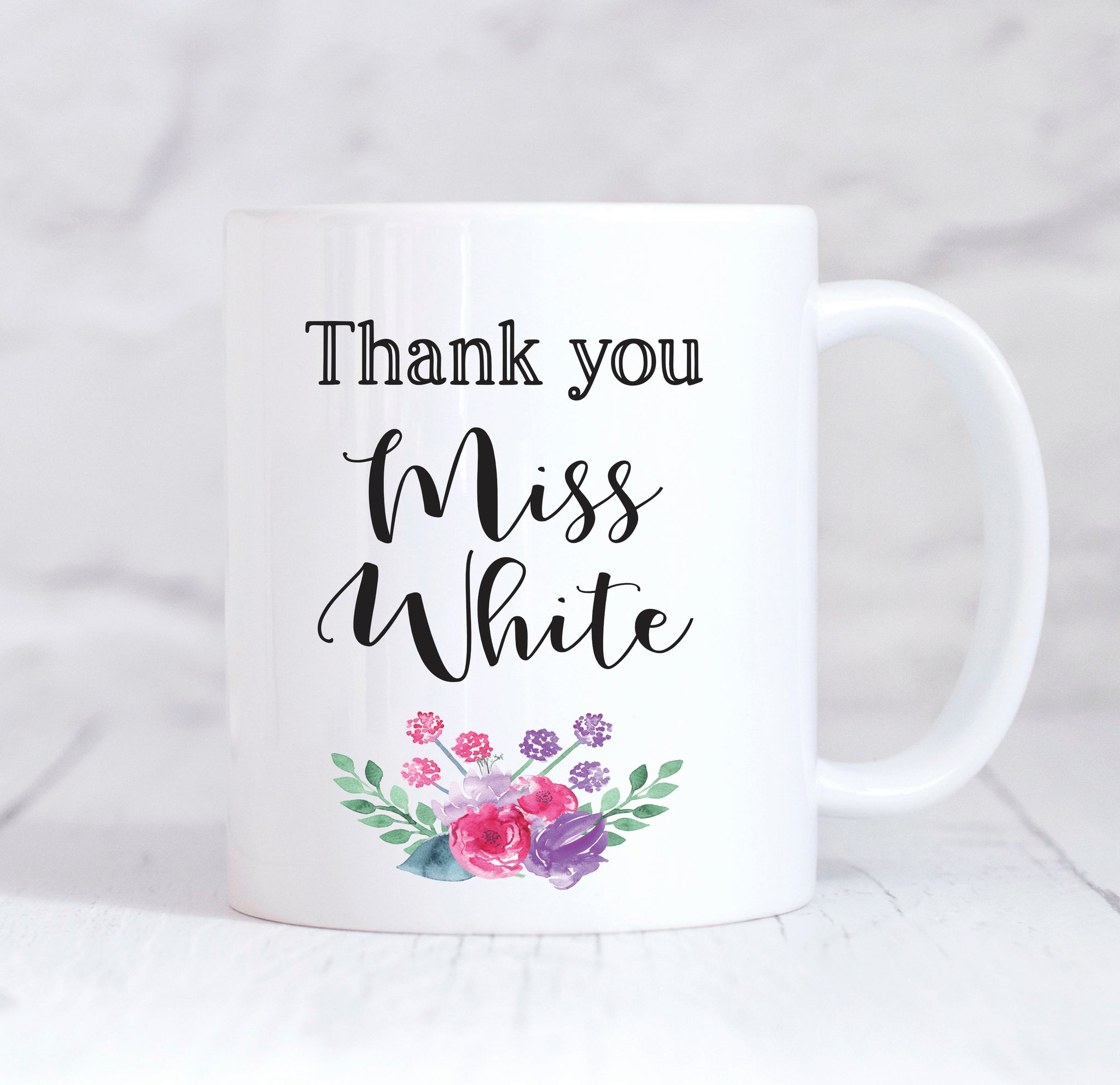 Teacher Mug, Personalised Teacher Mug, Teacher Gift, Thank You Teacher Mug, End Of Term gift, Thank You Teacher, Teaching Assistant