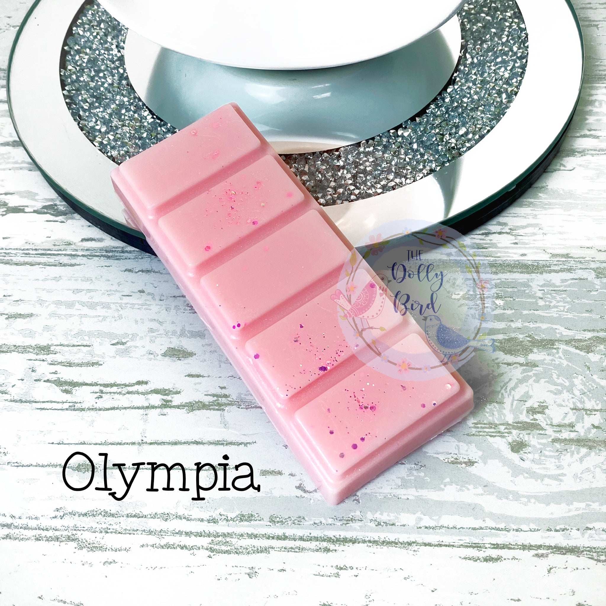 Olympia Wax Melt Snap Bar, Perfume Scented Wax, Soy Wax Melt, Clean Scented Wax Melts, Fresh Scent Wax Melts, Perfume Wax Melts