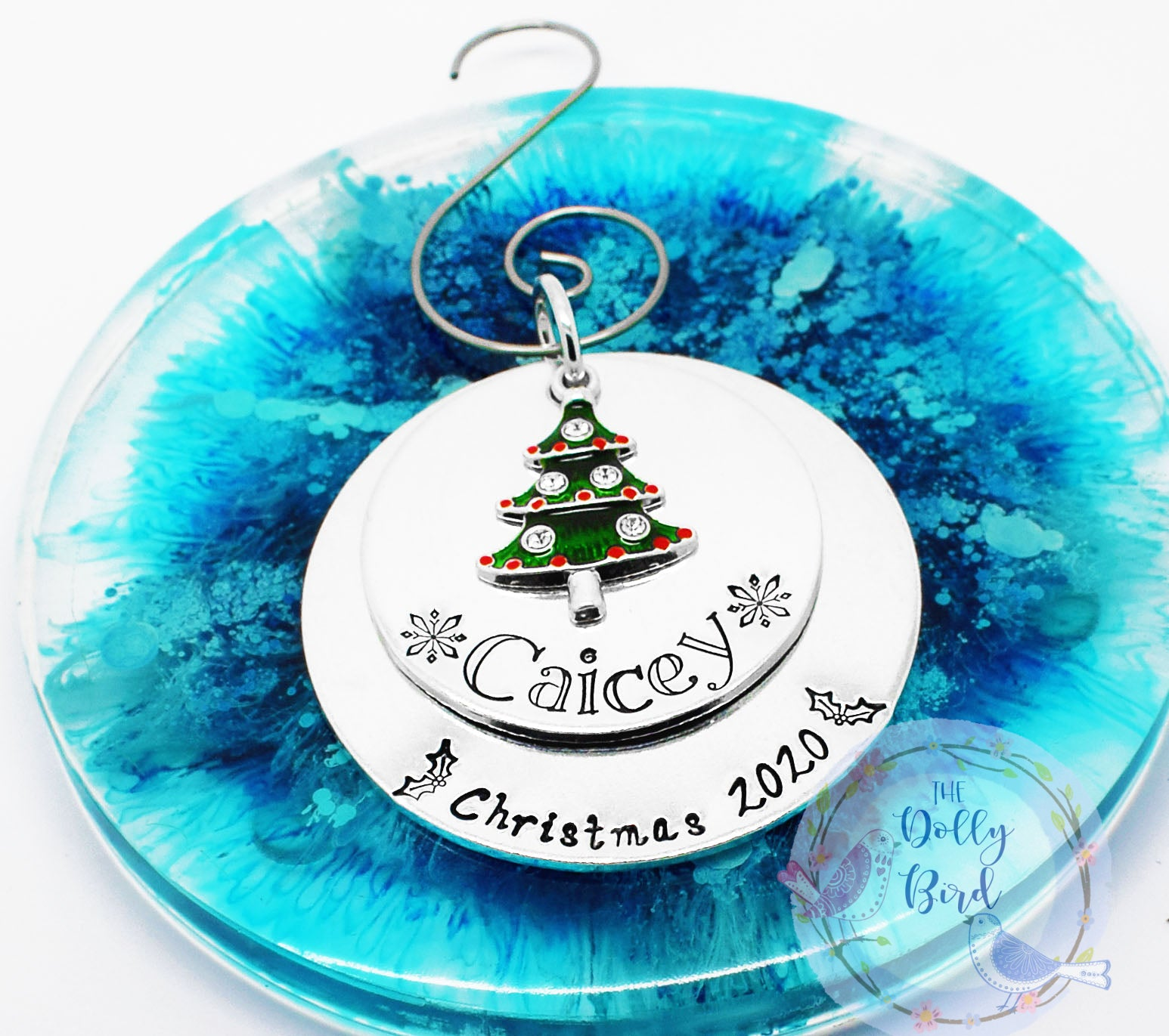 Personalised Christmas Tree Decoration, Personalised Christmas Ornament, Childs Tree Decoration, Christmas 2020 Tree Ornament, Xmas Gift
