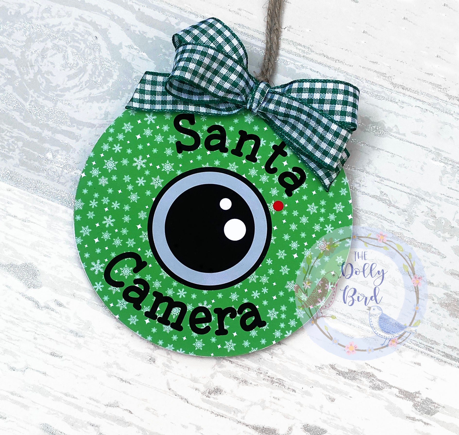 Santa Camera, Santa Cam, Elf Camera, North Pole Camera, Santa Camera Tree Decoration, Good Behaviour Camera, Tree Ornament