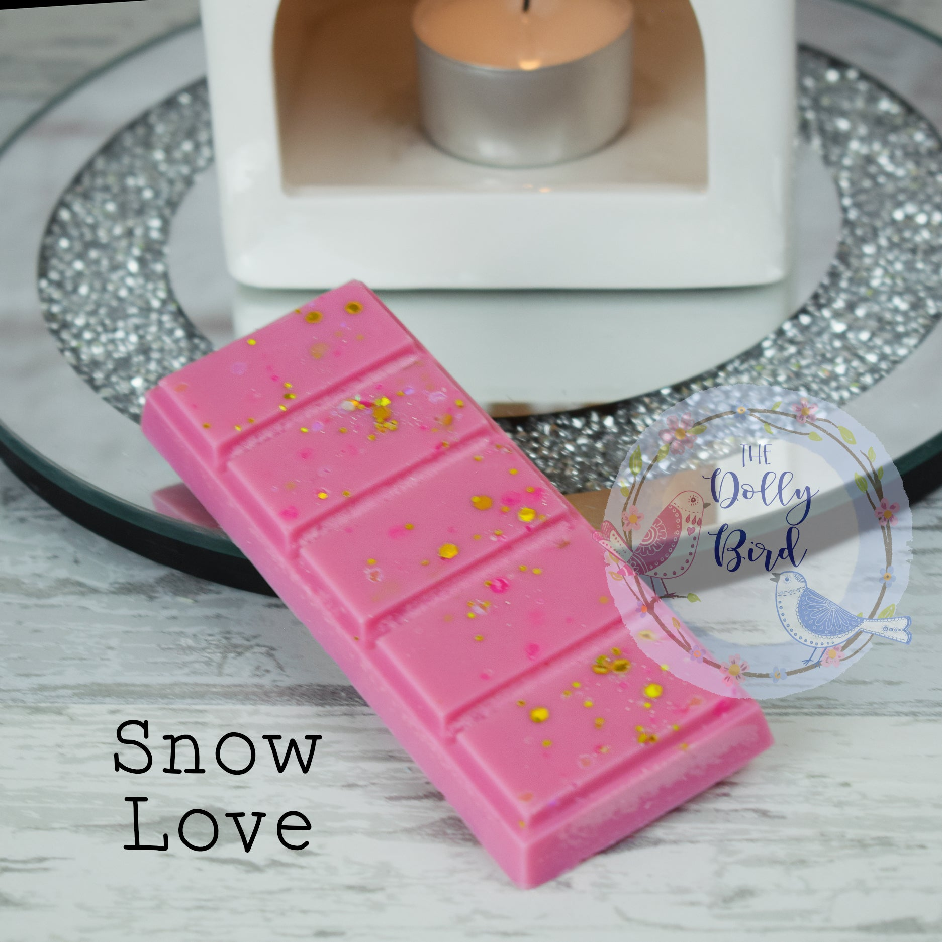 Snow Love Scented Wax Melt, Christmas Scented Wax Melt Snap Bar, Christmas Wax Melts, Highly Scented Wax Melts, Fresh Scent Wax Melts