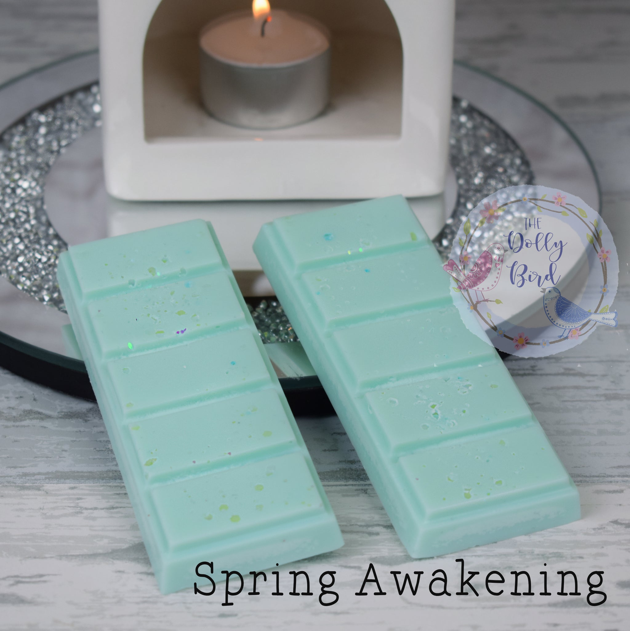 Spring Awakening Soy Wax Melt Snap Bar, Fabric Conditioner Scented Wax, Soy Wax Melts, Washing Scented Wax Melts, Fresh Scent Wax Melts