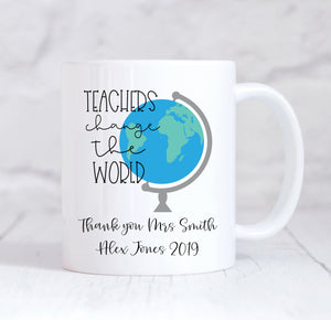 Personalised Teacher Mug, Teacher Gift, World Best Teacher, Teacher Christmas, Teacher Birthday, Thank You Teacher, Teacher, Coffee Mug