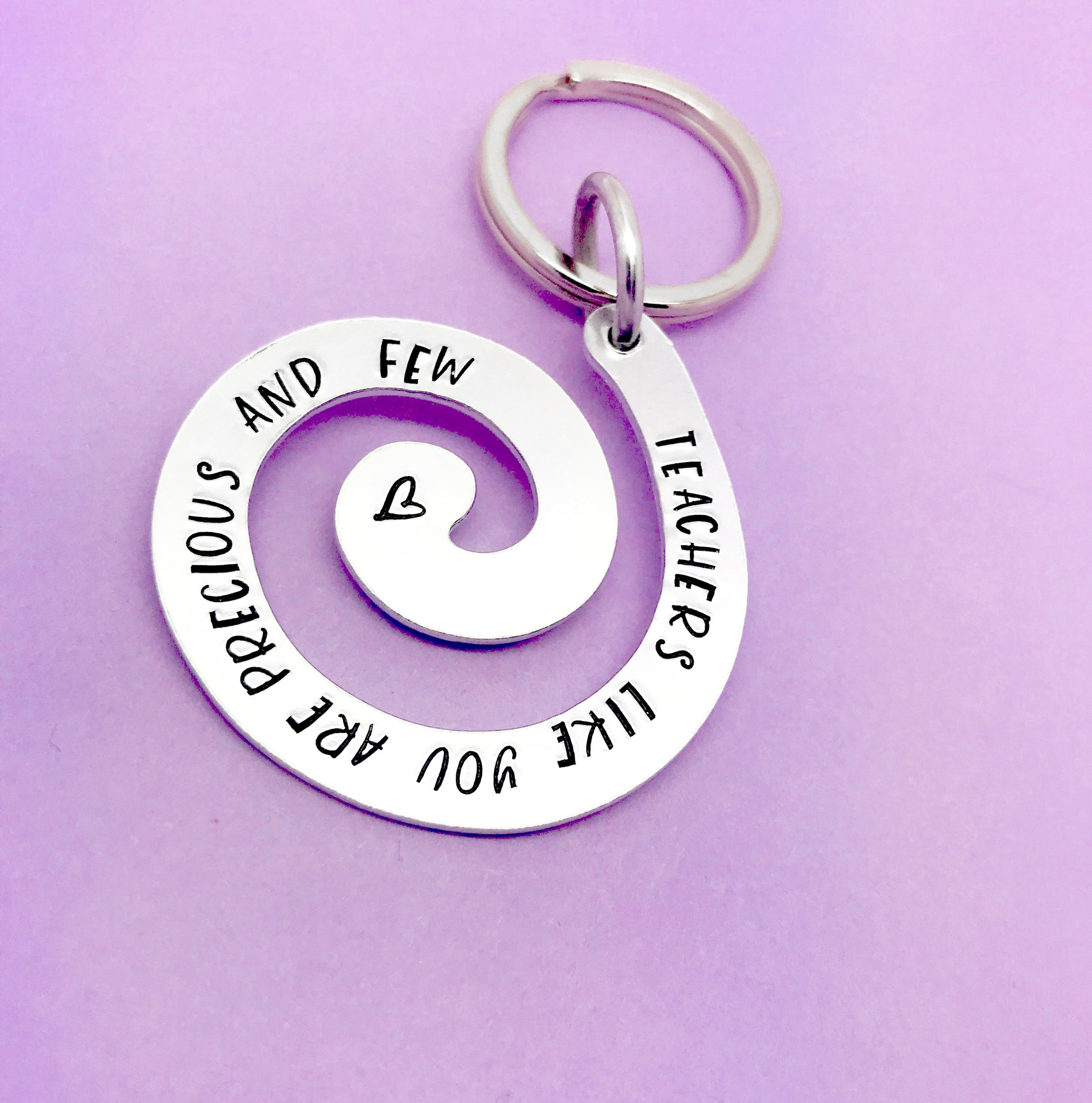 Teachers Like You Are Precious And Few Keyring