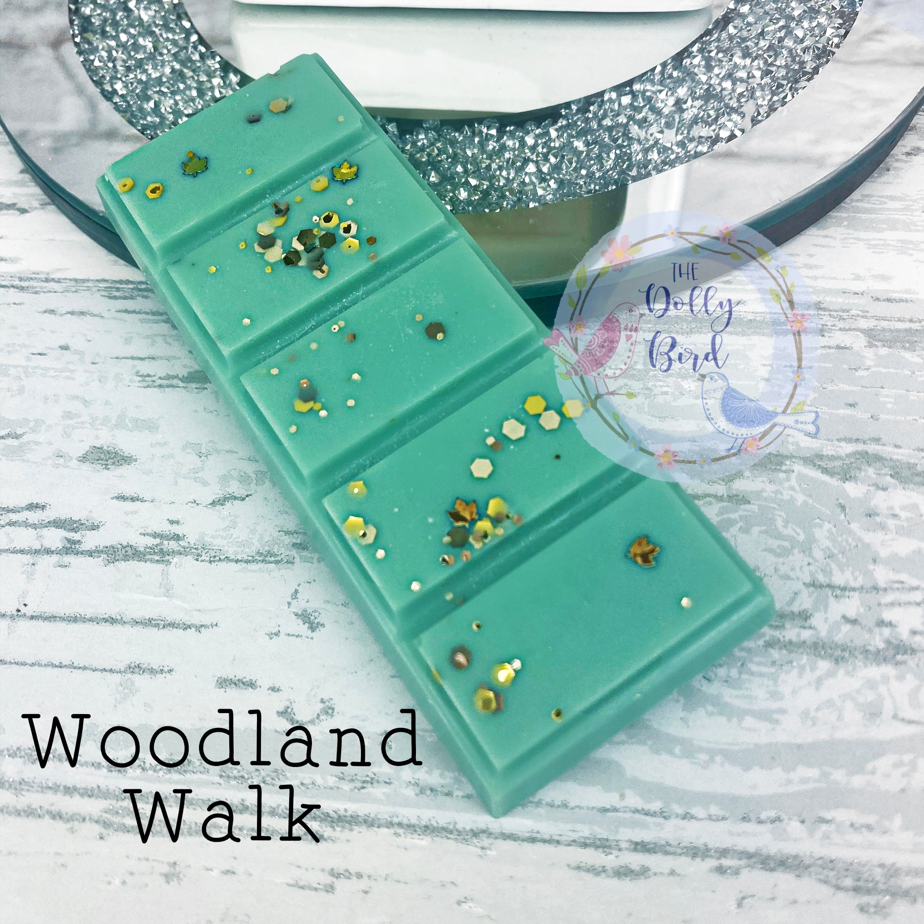 Woodland Walk Wax Melt Snap Bar, Herbal Scented Wax, Soy Wax Melts, Clean Scented Wax Melts, Fresh Scent Wax Melts, Musk Scented Wax Melts