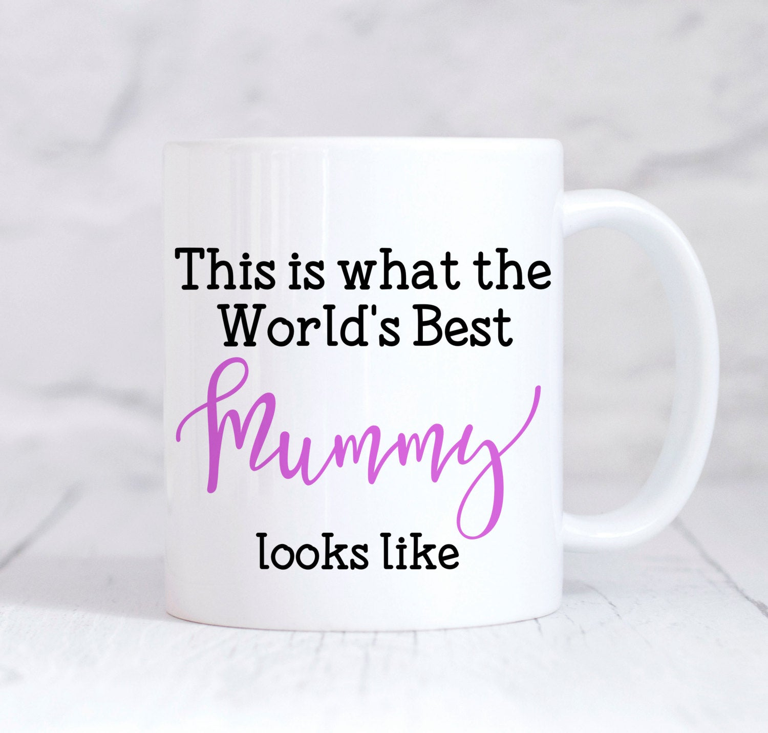 Mummy Mug, Worlds Best Mummy Mug, Mummy Coffee Mug, Mummy Gift, Best Mum Gift, Coffee Tea Mug, Mum Christmas, Mum Birthday, Novelty Mum Gift