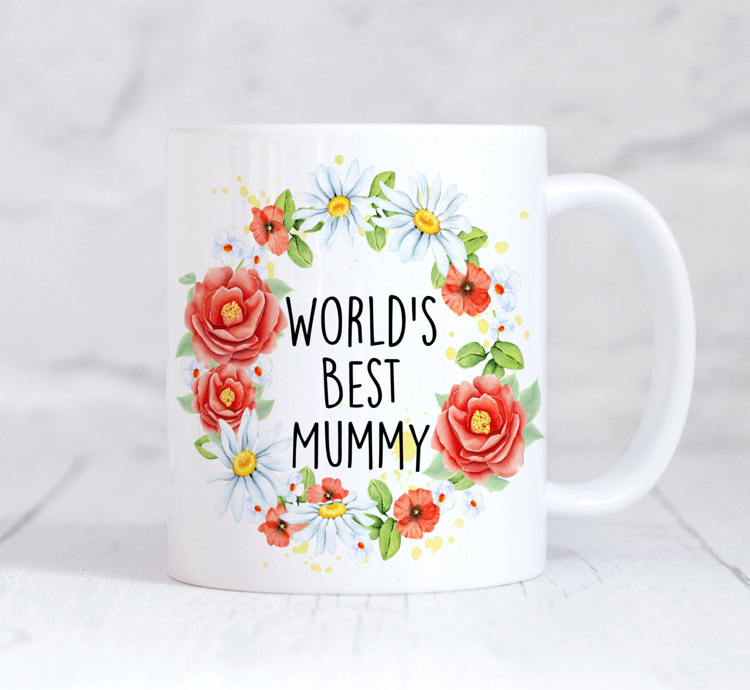 Worlds Best Mummy Mug, Mom Mum Mug, Mum Gift, Mothers Day, Coffee Mug, Tea Mug, For Her, Coffee Lover, Funny Mug, Christmas Gift, Adult