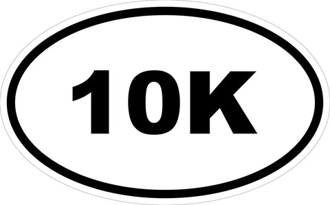 """10K"" Decal"