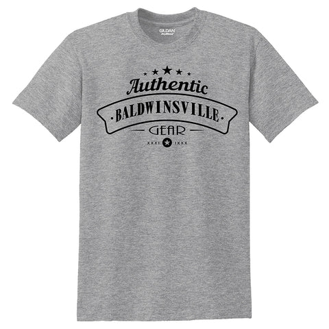 """Authentic Baldwinsville Gear"" T-shirts"