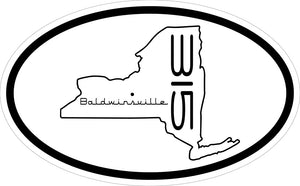 """315 Baldwinsville"" v.2 Decal"