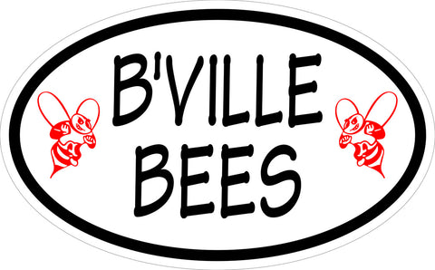 """B'VILLE BEES"" Euro Decal"
