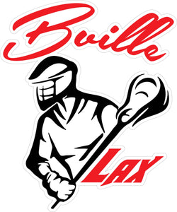 """Bville LAX"" Decal"