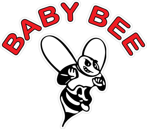 """Baby Bee"" Decal"