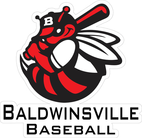 """Baldwinsville Baseball"" Decal"