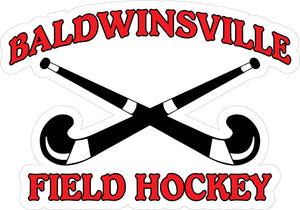 """Baldwinsville Field Hockey"" Decal"