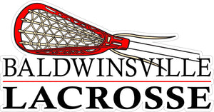 """Baldwinsville Lacrosse"" Decal"