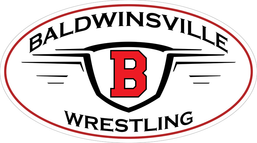 """Baldwinsville Wrestling"" v.2 Decal"
