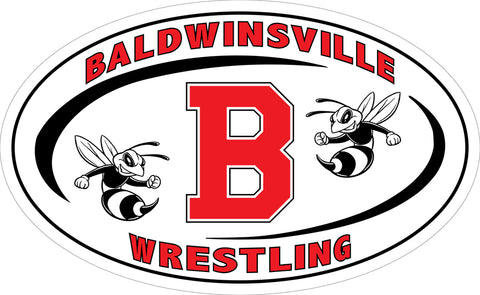 """Baldwinsville Wrestling"" Decal"