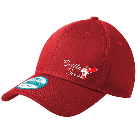 """Bville Bees"" Embroidered New Era NE200 Adjustable Cap"