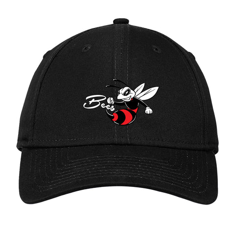 """Bees"" Embroidered Logo (Front) New Era NE200 Adjustable Cap"